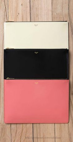 Style - essential details - Celine clutches