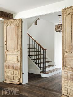 Beautiful doors and entrance hall