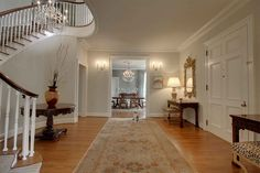 Making an entrance courtesy of Atlanta's Druid Hills Tour of Homes