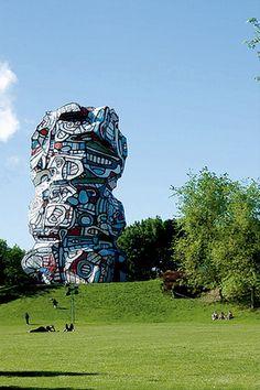 sculpture by Jean Dubuffet Art Sculpture, Abstract Sculpture, Contemporary Sculpture, Contemporary Art, Joan Miro, Art Informel, Jean Dubuffet, Henri Fantin Latour, Francis Picabia