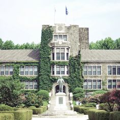 Underwood Hall, Yonsei University, Seoul, Korea South Korea Seoul, South Korea Travel, Yonsei University, Age Of Youth, My Dream, Photograph, Medical, Wallpapers, Mansions