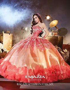 Quinceañera Dresses Ragazza, Morena Esencial, Coleccion Desigual, Diez, Paraiso, Joya, Elan