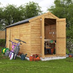 BillyOh Keeper Overlap Apex Shed | A Reliable, Overlap Apex Storage Shed for the Family