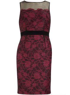 Black and purple organza dress