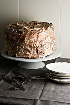 The Brown Betty Bakery's Marble Pound Cake - definitely want to try this frosting idea