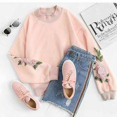 Korean Fashion Trends you can Steal – Designer Fashion Tips Girls Fashion Clothes, Teen Fashion Outfits, Girl Outfits, Teen Clothing, Style Clothes, Fashion Fashion, Womens Fashion, Dress Outfits, Teenager Fashion