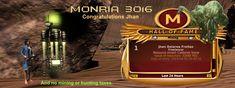 """Monria   Congratulations """"Jhan Delarea Freitas   32k+ Mining Claim   Monria"""