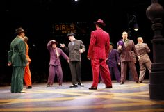 We were lucky enough to attend Guys and Dolls at the North Shore Music Theatre today with the whole family. Drama Theatre, Broadway Theatre, Music Theater, Broadway Costumes, Stage Set Design, Drama Fever, Guys And Dolls, Doll Costume, Best Blogs