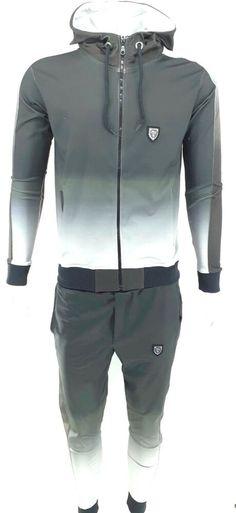 super star green mens tracksuit slim fit hip Time is money velour g jogging set