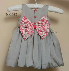 To place order DM us or whatsapp on 6394837380 Baby Girl Frocks, Frocks For Girls, Little Girl Dresses, Baby Dresses, Girls Frock Design, Baby Dress Design, Kids Dress Wear, Kids Gown, Baby Frocks Designs
