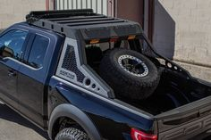 Add further utility to your Truck with our Truck Roof Rack. Mix and match modular components to build a truck roof rack to fit your needs. Truck Mods, 4x4 Trucks, Ford Trucks, Truck Parts, 4x4 Parts, Truck Flatbeds, Truck Drivers, Custom Truck Beds, Custom Trucks
