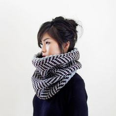 Gorgeous handmade snood scarves by IRISMINT on Etsy | Cool Mom Picks