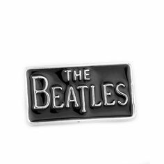Top Quality Classic Music Band the Beatles Brooch Letter Logo Enamel Badge Pin Dress Accessory for Fans Collection
