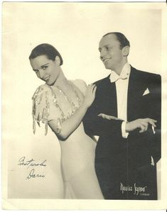 Portrait of Louise Brooks and Dario Borzani (Dario & Louise dance team, ca. Louise Brooks, Hollywood Scenes, In Hollywood, Hollywood Actresses, Film Writer, Sound Film, Partner Dance, Famous Couples, Lost Girl