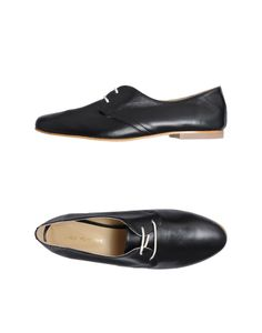 LUCA VALENTINI Lace-up shoes YOOX Collection: Spring-Summer. Nappa leather. $149/