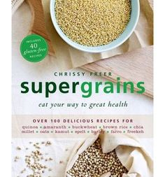 Supergrains are nutrient dense foods that are gaining worldwide attention for their health benefits and their versatility. This book explores 12 such supergrains - quinoa, amaranth, buckwheat, brown rice, chia seeds, millet, oats, kamut, spelt, barley, farro and freekeh - with information on their history, uses, and nutritive and health benefits.