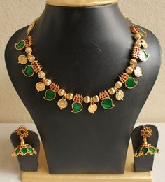 GORGEOUS KERALA STYLE PALAKKA NECKLACE SET