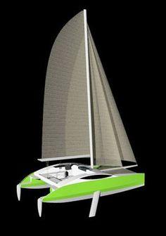 NG YACHT DESIGN | Nicolas GRUET Architecte Naval | plan bateau multicoque voile moteur: Multicoques voile