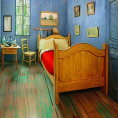 The Art Institute of Chicago Recreates Van Gogh's Famous Bedroom to be Rented on Airbnb