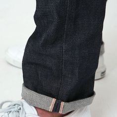 I've always love how denim drapes over the leg and shoes. Now I also love how it drapes when its cuffed. <3