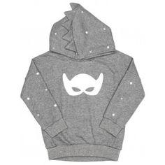 Spiked Hoodie Grey Mask - Beau Loves