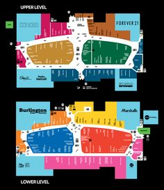 Mall Map For The Mills at Jersey Gardens, A Simon Mall - Located At Elizabeth,