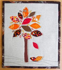 the confused quilter: Autumn Mug Rug Swap