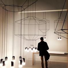Remembering #Vibia Wireflow design by #ArikLevy at #FieraMilano 2013