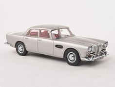 Neo 1:43 Lagonda Rapide Resin Model Car 45162 This Lagonda Rapide (1961) Resin Model Car is Metallic Grey and features comes in a display case. It is made by Neo and is 1:43 scale (approx. 10cm / 3.9in long).    This classic Britsh luxury car of the sixties has recently lent its name to Aston Martin's four door saloon car.  #Neo #ModelCar #Lagonda