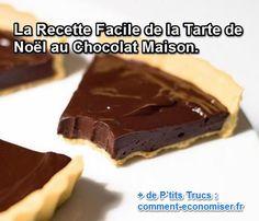 La tarte de Noël : du chocolat sur une pâte délicieuse, que demander de mieux ? Découvrez une recette rapide et facile que vous allez pouvoir décorer selon votre inspiration :-)  Découvrez l'astuce ici : http://www.comment-economiser.fr/tarte-noel-chocolat.html?utm_content=buffer7fa83&utm_medium=social&utm_source=pinterest.com&utm_campaign=buffer