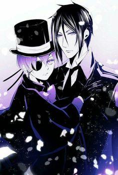 Sebastian Michaels, Ciel phantomhive, Kuroshitsuji | Black Butler