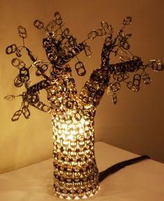 Pop Tabs Lamp