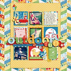 outdoor fun layout by heathergw...  using Playdate and Dippy Spots Alpha
