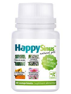 Nas desfundat HappySinus - Contine extracte din plante care actioneaza prin decongestionarea cailor respiratorii. Contribuie la mentinerea starii de sanatate a aparatului respirator.