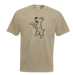 £10.99 tin tin snowy the dog mens T-shirt all sizes various colour worldwide delivery