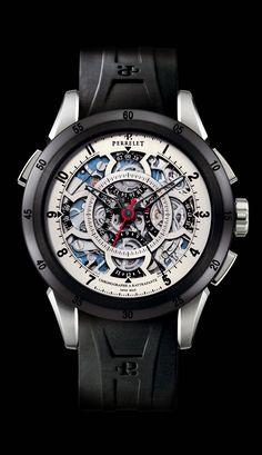 Perrelet A1043/1 split-seconds chronograph watch - Presentwatch.com