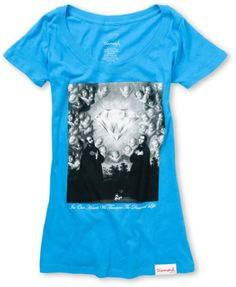 7fcd4cfdd Diamond Supply Girls Sacred Heart Turquoise Tee Shirt  zumiez  exclusive  Diamond Life