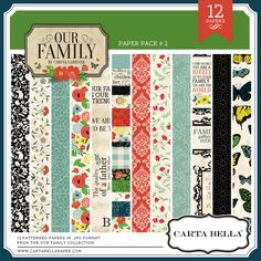 Our Family Paper Pack #2 - Snap Click Supply Co.