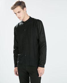 Image 1 of SHIRT WITH LAYERED WAISTCOAT from Zara