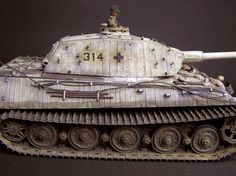 http://www.missing-lynx.com  Tiger II, Porsche Turret 	Dragon, 1/35 scale by Maza Takahashi