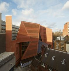 London School of Economics - Saw Swee Hock Student Centre | O'Donnell + Tuomey Architects. Photo © Dennis Gilbert | Bustler