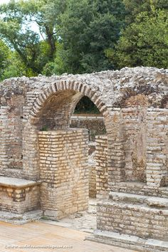 Butrint, one of the three UNESCO World Heritage Sites in Albania.