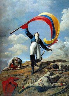 Cristobal Rojas - La muerte de Girardot en Bárbula, es una obra pictórica del venezolano Cristóbal Rojas, la primera de importancia del pintor de 25 años natural de Cúa (Venezuela). Es un óleo sobre tabla de lienzo de 287 x 217 cm, pintado en 1883 para concursar en la Exposición Nacional del «Salón del Centenario» con motivo del centenario del nacimiento de Simón Bolívar
