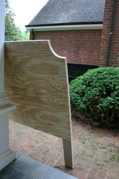 DIY UpholsteredHeadboard