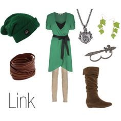 Link outfit inspired from The Legend of Zelda series.