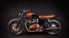 Custom Triumph Bonneville EFI by Ton-up Garage