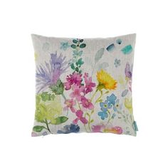 Bluebellgray cushions - Inspired by the rainbow of wild- flowers in HRH Prince of Wales' Wildflower Meadow, these signature florals inject a dose of feel good design into the home.