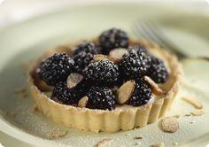 Driscoll's Blackberry Almond Tart.  | Driscolls.com