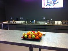 TopBrewer installation at Level39 #CanaryWharf #iPadCoffee