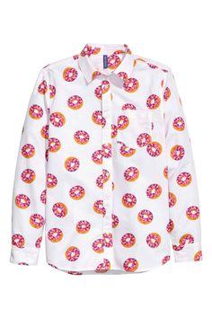 Camisa donuts H&M